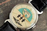 POBEDA wrist watch Buran Russian Soviet mechanical / serviced / Looks great