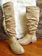 dbfd799668f Journee Collection Women s MOON Wide-Calf Boot - Taupe - Size 9.5