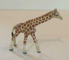 Adorable Austrian Bronze Miniature Cold Painted Standing Giraffe Figure