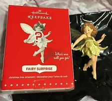 Hallmark Keepsake Fairy Surprise Mystery Ornament GOLD 2015