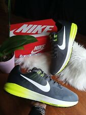 SIZE 15 MEN'S NIKE AIR ZOOM STRUCTURE 21 GREEN GRAY RUNNING CASUAL 904695 007