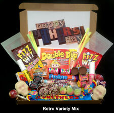 Personalised Fathers Day Sweet Gift Boxes Retro Best Dad Hard Boiled Liquorice