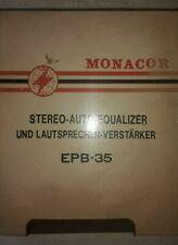 Monacor Stereo Auto Equalizer EPB-35