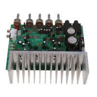 HIFI Digital Reverb Power Amplifier Board 400W Audio Preamp Rear Board Green