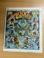 2000AD PROG 462 (22 MARCH 1986) UK LARGE PAPER COMIC - JUDGE DREDD