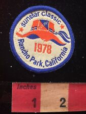 Vtg 1978 SUNSTAR CLASSIC RANCHO PARK Los Angeles California Golf Patch 81D7