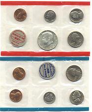 1969 US Mint Set 10 BU coins w/ 40% Silver Kennedy