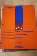 1989 Chrysler Jeep Motor A-604 Automatikgetriebe Diagnose Reparaturhandbuch