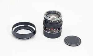 Carl Zeiss Planar T*2/50ZM BK 50mm f/2 Lens for Leica M TESTED!