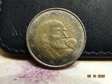 pièce  de 2 euro de françois Mitterand