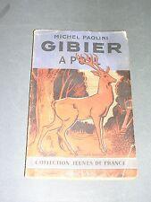 Chasse Michel Paolini Gibier à poil manuel de chasse pour scout 1945