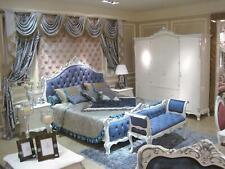 Wardrobe Wardrobe Bedroom 4 Door Wood Shelf Wall Cabinet Baroque Rococo