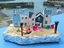 Handmade Driftwood Cottages Houses Unique Rustic Coastal Ornament Gift Artwork