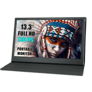Portable Monitor Touch Screen 13.3 inch 2K 1080P IPS Display for Raspberry Pi