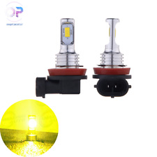 H11 H8 H16 80W 4000Lm 3000K Yellow Tech Led Fog Lights Conversion Bulbs Kit