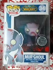Funko World Of Warcraft Mur'Ghoul 2014 Blizzard Limited Addition Vinyl Figure