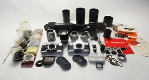ZEISS CONTAREX CAMERAS AND ACCESSORIES