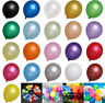"""5""""10""""12"""" INCH Latex Balloons Helium & Air Quality COLOURS Baloons Birthday party"""