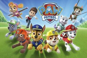 Paw Patrol Poster Bedroom Wall Art Printed on A3 Gloss Photo Paper!
