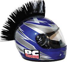 PC Racing Helmet Mohawk Street Bike Dirt Bike BLACK