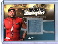 WWE MVP Elimination Chamber 2010 Topps Canvas Event Used Ring Mat EC-2 Card FD