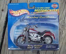 2000 Hot Wheels 1:18 Scale Die Cast Harley Davidson Softail Deuce