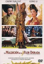 Curse Of The Golden Flower / La Maldicion De La Flor Dorada DVD NEW