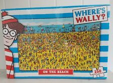 Where's Wally? On The Beach 250 Piece Jigsaw Puzzle Brand New & Sealed Seaside
