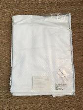 "NIP The Company Store Madelyn Matelassé Egyptian Cotton 14"" Bedskirt White TWIN"