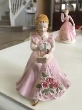 Josef Original Girl Reading Bible Really Pretty. Not Chips Or Damage. Pet Fre