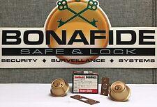 Kwikset Deadlock #885 / Double Cylinder / Heavy Duty Deadbolt / Satin Bronze