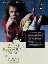 Yngwie Malmsteen Downbeat Trade Press Advert