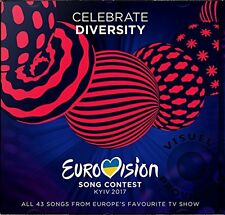 Eurovision Song Contest Kiew 2017 New Sealed CD Fast Post 0602557380019