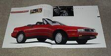 USA-CADILLAC BROCHURE 1990-ALLANTE Fleetwood COUPE DE VILLE Eldorado Siviglia
