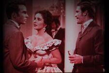 FILM 16mm L'ALBERO DELLA VITA 1957 CON LIZ TAYLOR 4 BOBINE DOMINANTE ROSA