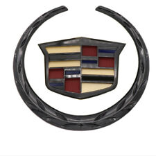 Black Multicolor Wreath Crest Front Grille Emblem fits Cadillac Escalade CTS SRX