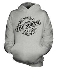 MADE IN THE NORTH UNISEX KIDS HOODIE BOYS GIRLS CHILDREN TODDLER GIFT CHRISTMAS