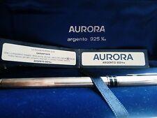 PENNA AURORA STILO MARCO POLO ARGENTO 925 EDIZIONE ROMA 30° ANNIVERSARIO 30esimo