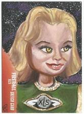Fireball XL5 Gerry Anderson Sketch Card drawn by Phil Hassewer