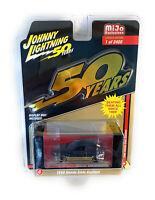 Johnny Lightning 1/64 1998 Black & Gold Honda Civic Custom Diecast Car CP7197-4
