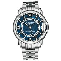 Stuhrling Swiss Automatic Sion 1001 Men's 44mm stainless Steel Dress Watch