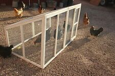 White Wood Run Extension for Chicken Coop by The Chicken Coop Company
