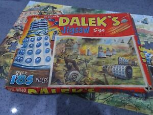RARE: 1950 Doctor Who and the Daleks jigsaw,