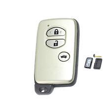 Smart Remote Key Shell Case Fob 2 Button for TOYOTA Camry Crown Highlander Prado