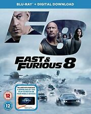 Fast and Furious 8 BD + digital download [Blu-ray] [2017] [Region Free]