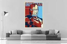 IRON MAN Vintage Speciale Poster Arte Poster Grande formato A0 Larghezza Stampa