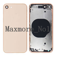For iPhone 8 Housing Metal Frame Battery Rear Glass Cover Back Door Replacement