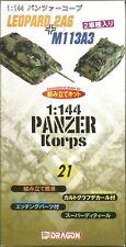 DRAGON 21 1:144 PANZER KORPS  + M113A3 LEOPARD 2A6 TANK MODEL NEW SEALED UK SALE