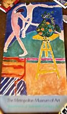Henri Matisse Vintage  Met Museum Nasturtuims and  The Dance Poster 48X25