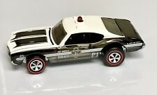 Hot Wheels RLC Police Olds 442 Opening Hood Mint Blister Pull